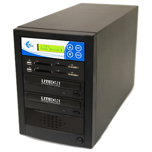 EZ DUPE Media Mirror PLUS 1 to 1 Duplicator - Flash (SD CF MS MMC USB) / DVD