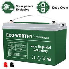 100AH DEEP BATTERY:1 pc 100AH Sealed Lead Acid Battery Deep Cycle battery