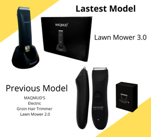 Electric Manscaping Groin Hair Trimmer MAQMUD Lawn Mower3.0 Waterproof EasyBalls