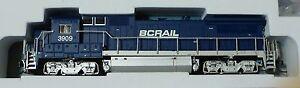 Atlas N #40000500 GE Dash 8-40B w/DCC - Master(R) -- BC Rail #3909 (blue, white,
