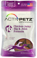 ActivPetz Hip Joint Jerky Treats for Dogs Chicken Helps hip joint health 7oz