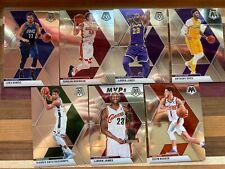 2019-2020 Mosaic Basketball base cards 1-300 Harden, Davis, Kyrie, LeBron