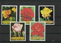 Fujeira Fujairah Roses Flowers Mint Never Hinged Stamps ref R17371