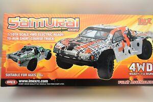 IMX 18030 SAMURAI  SCT TRUCK 1/10TH SCALE 4WD ELECTRIC POWER, BRUSH MOTOR