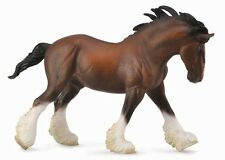 Clydesdale étalon Bay 19 cm pferdewelt collecta 88621