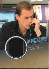 2012 Rittenhouse NCIS #CC13 Sean Murray as Timothy McGee Costume Relic #150/500
