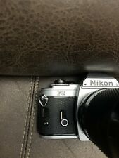 New listing Nikon Fg 35mm Slr Film Camera with Soligor 70-150mm F:3.8 Lens