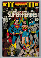 DC 100 PAGE SUPER SPECTACULAR #6 5.5 NEAL ADAMS COVER 1971 OFF-WHITE PAGES