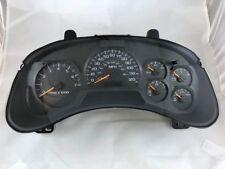2003 - 2004 Chevrolet Trailblazer Remanufactured Instrument Cluster MPH wo/DIC