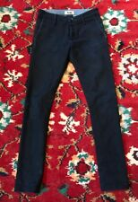 Acne Skinny Jeans Size 25 Blue Color