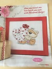 Heart To Heart ( Cross Stitch Chart Only) Fizzy Moon