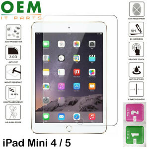 For Apple iPad Mini 4 5 Tempered Glass Screen Protector Saver Protective Glass