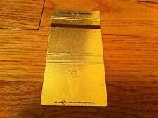 Vintage Stewart Title 5050 S.W. Griffith Beaverton Oregon Matchbook Cover RARE