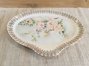 Vintage | Alfred Meakin Plate with Flower Painting