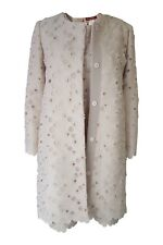 *MAX MARA* STUDIO 100% COTTON BEIGE COAT AND DRESS SET (UK 10)