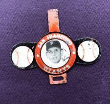 1958 Vintage Armour Tab San Francisco Giants Ray Crone Baseball Pin