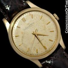 1961 IWC Vintage Mens Watch, Cal. 853 Automatic - 18K Gold Filled - Warranty