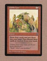 MTG - Goblin Lore - Portal 2 - P2 - Uncommon NM/MT - Single Card