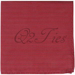NEW Men's Mini Stripes Handkerchief Pocket Square hankie Formal Prom