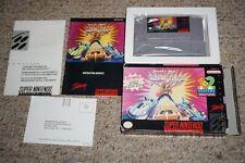 Rock N Roll Racing (Super Nintendo SNES) Complete in Box w/ Reg GOOD Shape