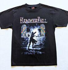 "HAMMERFALL- band T-shirt - ""I want out"" print SIZE: L Black, 100% cotton"
