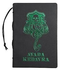 Harry Potter Slytherin Avada Kedavra Green Foil Faux Leather Cover Journal