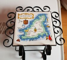 Single Compartment Letter Rack with Guernsey map on front and slightly marked