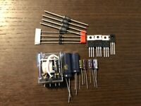 Pioneer SX-780 Power Supply Repair Kit High-Quality Receiver Recap Set w/ Relay