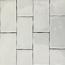 Ripple Grey Subway Ceramic Tiles 150x75mm Premium Grade