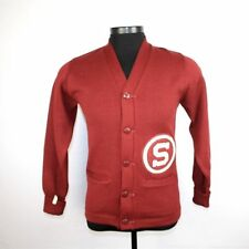 Vintage Stanford University Cardinals Varsity Letterman Sweater HL Whiting Small