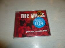 THE HIVES - Your Favourite New Band - 2002 UK 12-track CD album