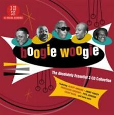 Boogie Woogie The Absolutely Essential 3 CD Collection Various Artists Triple