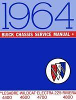 1964 Buick Electra Lesabre Riviera Wildcat Shop Service Repair Manual OEM Guide