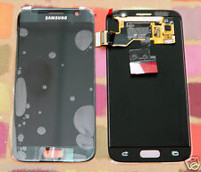GENUINE BLACK SAMSUNG SM-G930F GALAXY S7 SCREEN 2k LCD DISPLAY PLUS ADHESIVE