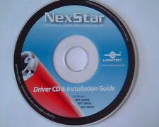 CD NexStar Driver CD and Installation Guide NST-250U2 NST-260U2 NST-260SU drive