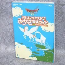 DRAGON QUEST VI 6 Michikusa Bouken Game Guide Japan Book Nintendo DS SE9595*