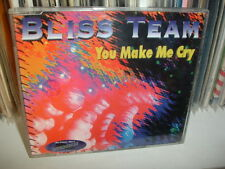 "BLISS TEAM RARE CDM "" YOU MAKE ME CRY "" 1° PRESS 1995 INPR 1080-D MADE ITALY"