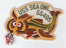 Fish w//bull dog face BC Patch Cat No B307 USS Sea Dog SS 401