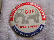 "Vintage GOP National Convention San Francisco '64 ""I Was There"""