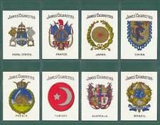 NOSTALGIA CLASSICS - 20 SETS OF M 20 - JAMES & CO. ' ARMS  OF  COUNTRIES ' CARDS