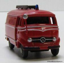BUB Mercedes Benz L 319 Werk-Feuerwehr Untertürkheim Maßstab 1:87