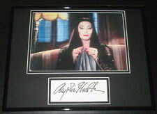 Anjelica Huston The Addams Family Signed Framed 11x14 Photo Display
