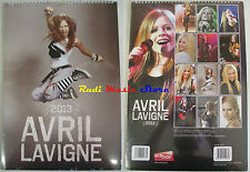 CALENDARIO 2013 AVRIL LAVIGNE SEALED sigillato cd dvd lp mc tour live