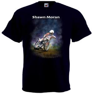 Shawn Moran T-shirt motorcycle speedway rider T-shirt