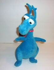 Disney Just Play Doc McStuffins Stuffy Blue Dragon Talking Talks Plush 14""