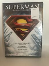 Superman: The Motion Picture Anthology 1978-2006 DVD 5 disc Set