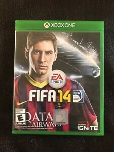 XBOX ONE/EA SPORTS FIFA 14-VERY GOOD CONDITION!! MANUAL NOT INCLUDED
