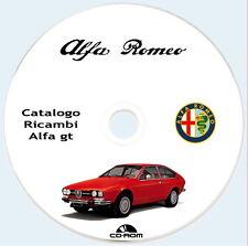 Spare Parts,Alfa Romeo Alfetta GT 1974 parti ricambio meccanica carrozzeria
