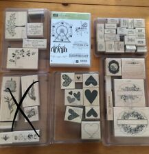 Stampin Up Sizzix Big Shot Viele Stempel Holz