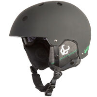 Demon Faktor Ski Snowboard Helmet NEW With Brainteaser Audio NEW Black or White